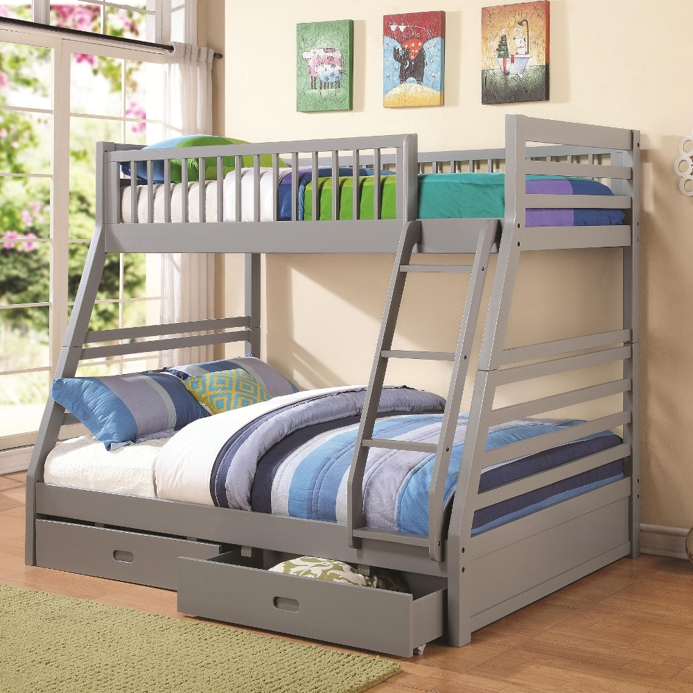 Image of: New Twin Bed with Storage Drawers