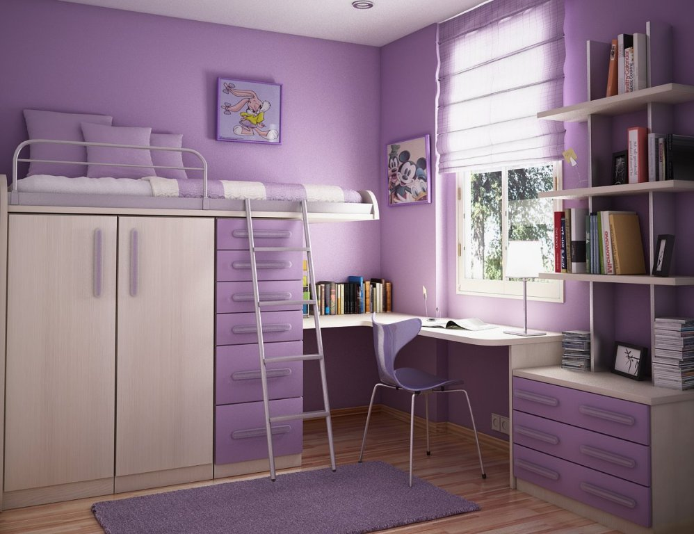 Image of: Nice and Cool Teen Beds