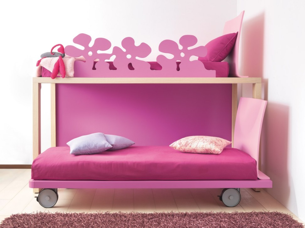 Image of: Pink Teen Girl Beds