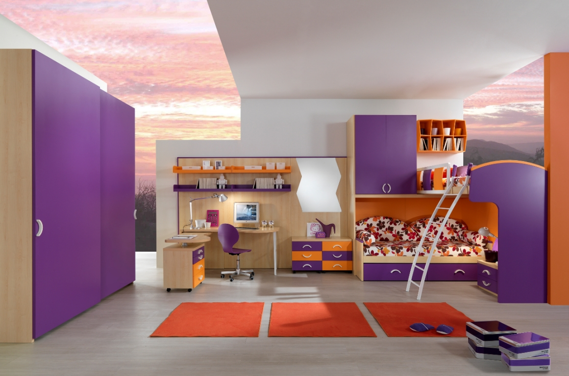 Image of: Popular Cool Teen Beds