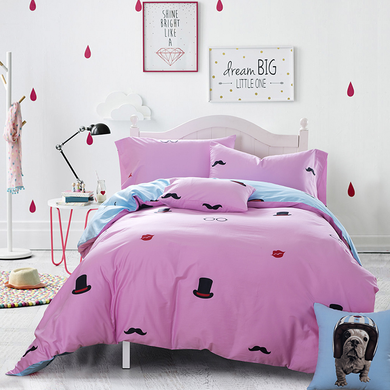 Image of: Purple Bedding Sets for Teens