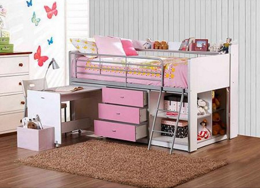 Image of: Savanah Loft Beds for Teens