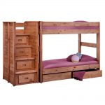 Traditional Twin Bed with Storage Drawers
