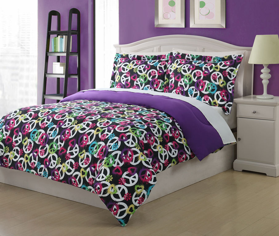 Twin Bed Sheet and Comforter Sets