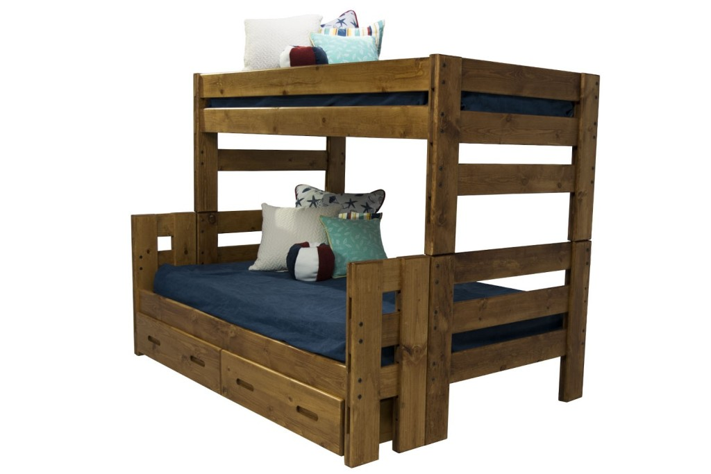 Image of: Twin Bed with Storage Drawers Design