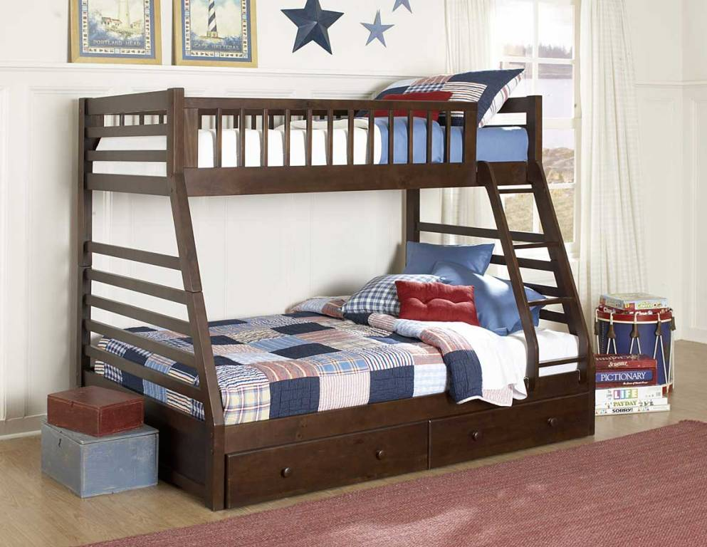 Image of: Twin Bed with Storage Drawers Ideas