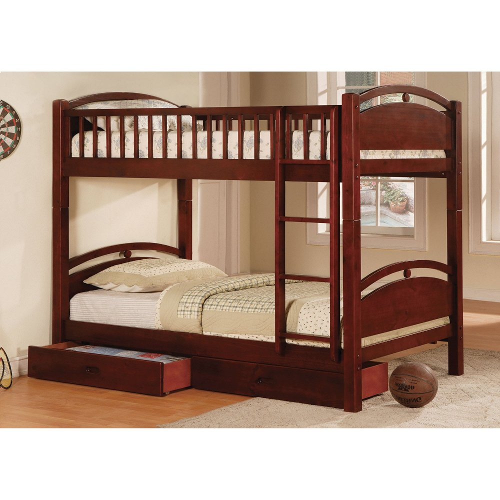 Image of: Twin Bed with Storage Drawers Photo