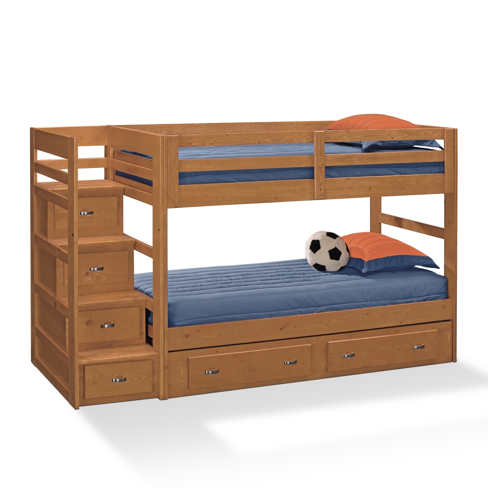 Twin Bed with Storage Drawers Style