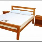Twin bed frame wood picture