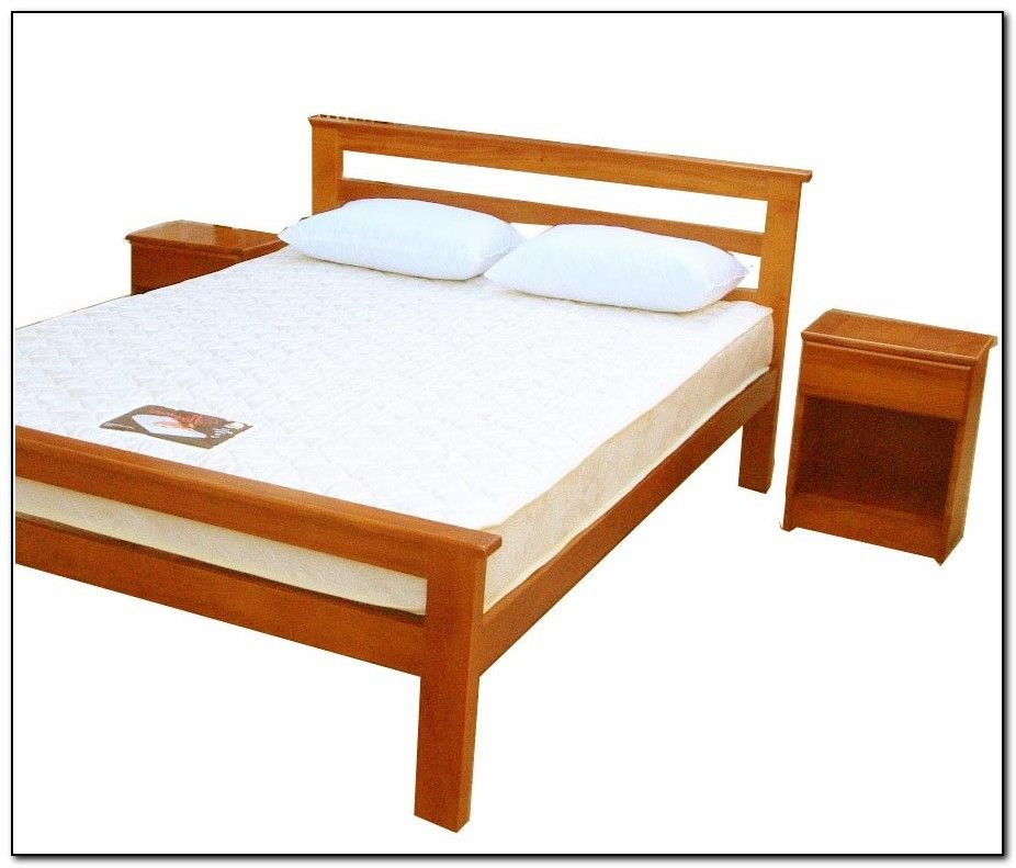 Image of: Twin bed frame wood picture