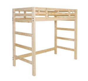 Image of: Twin bed frame wood with stair