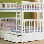 White Cool Teen Beds