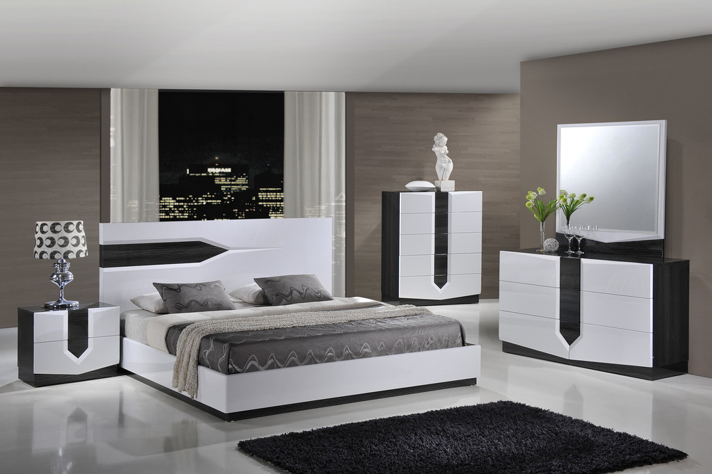 White King Platform Beds
