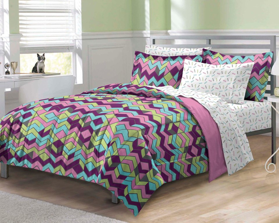 Zig Zag Bedding Sets for Teens