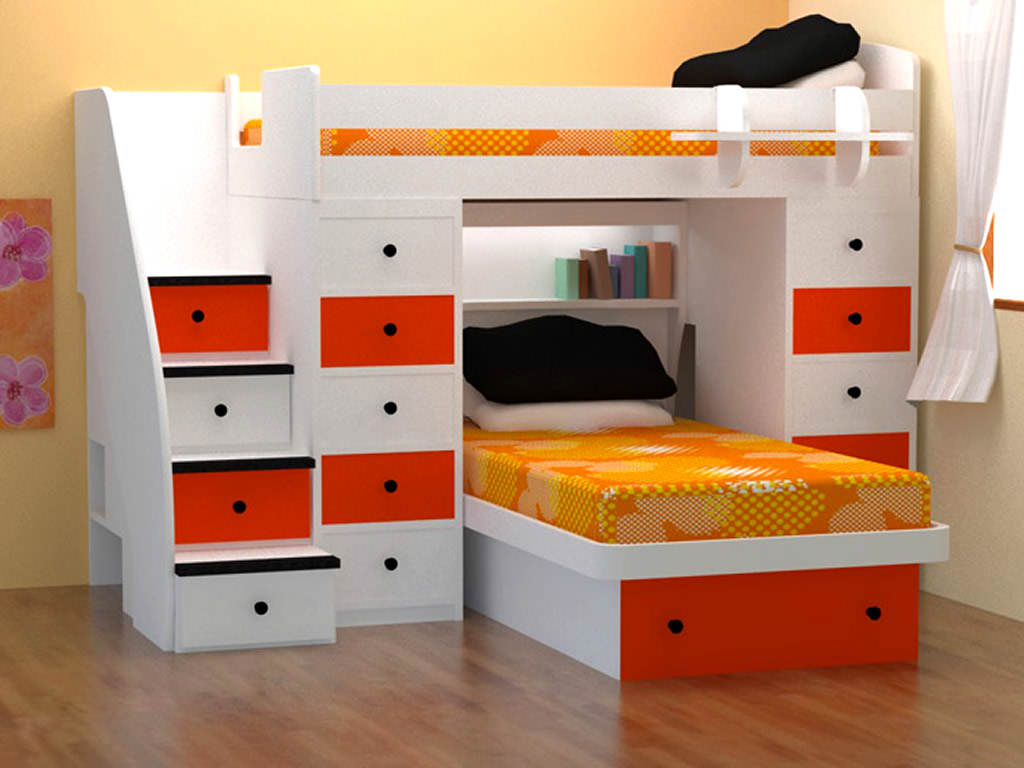 Image of: Affordable Bunk Beds Colors