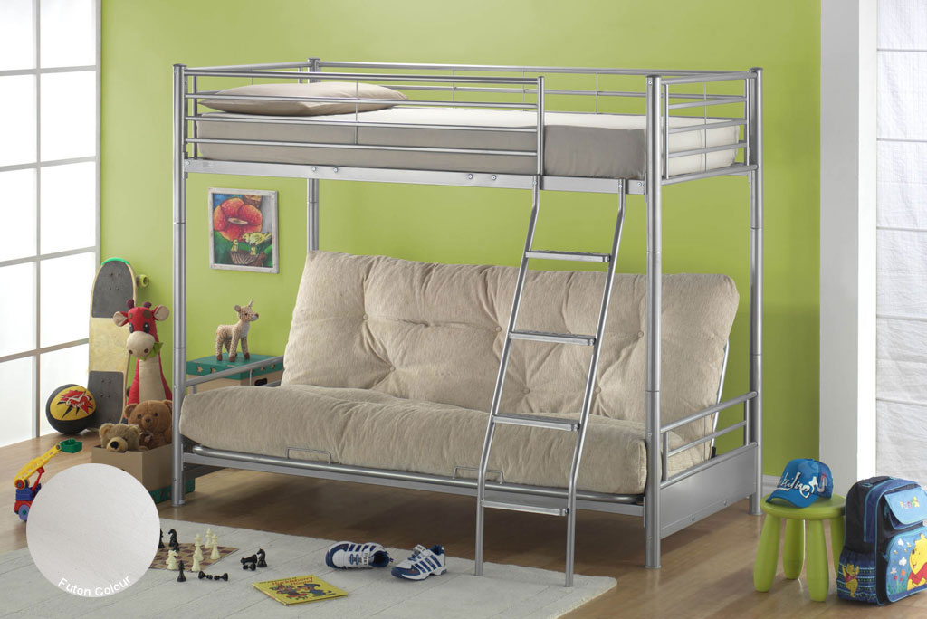 Image of: Affordable Bunk Beds Metal