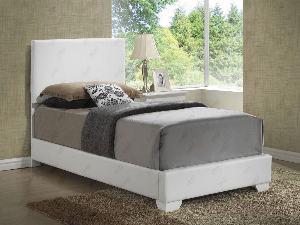 Image of: Andover Mills Twin Upholstered Bed