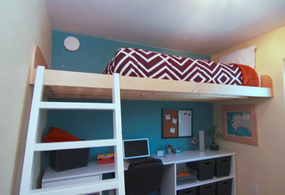 Image of: Awesome Ana White Loft Bed