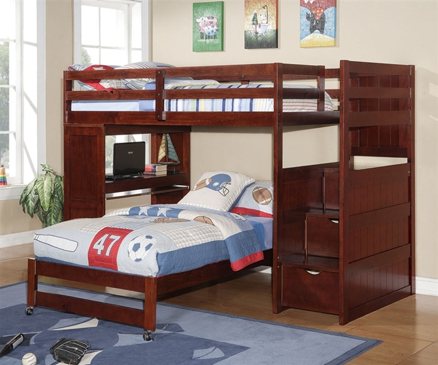 Image of: Best Bunk Beds With Stairs