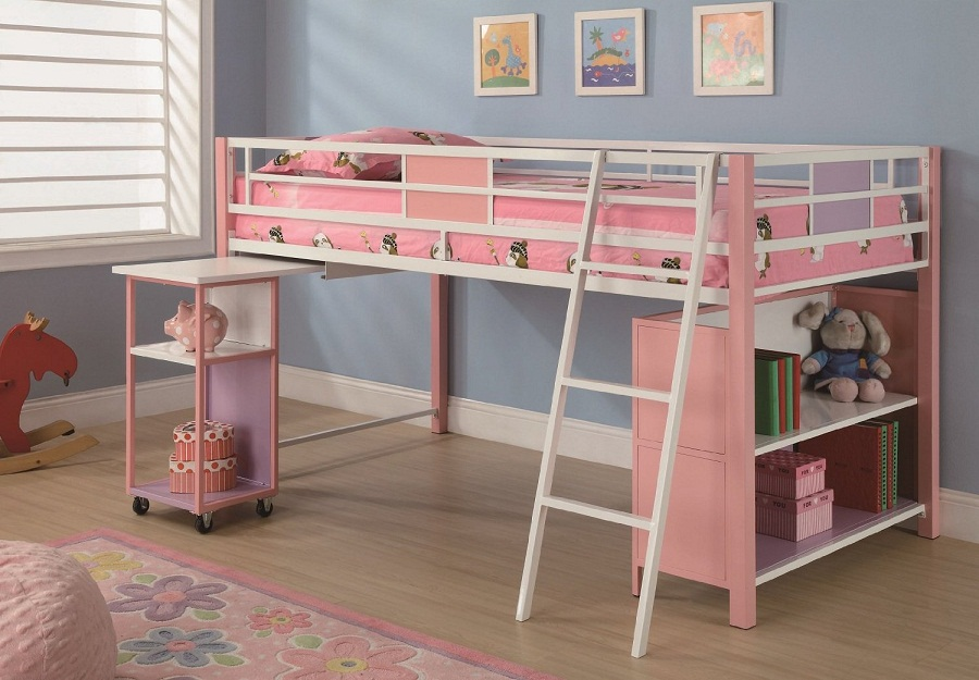 Image of: Best Pottery Barn Loft Bed Plans