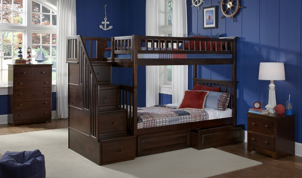 Best Twin Bunk Beds with Stairs