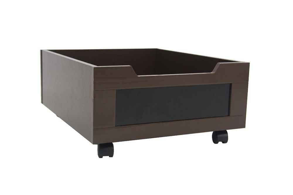 Black Rolling Underbed Storage