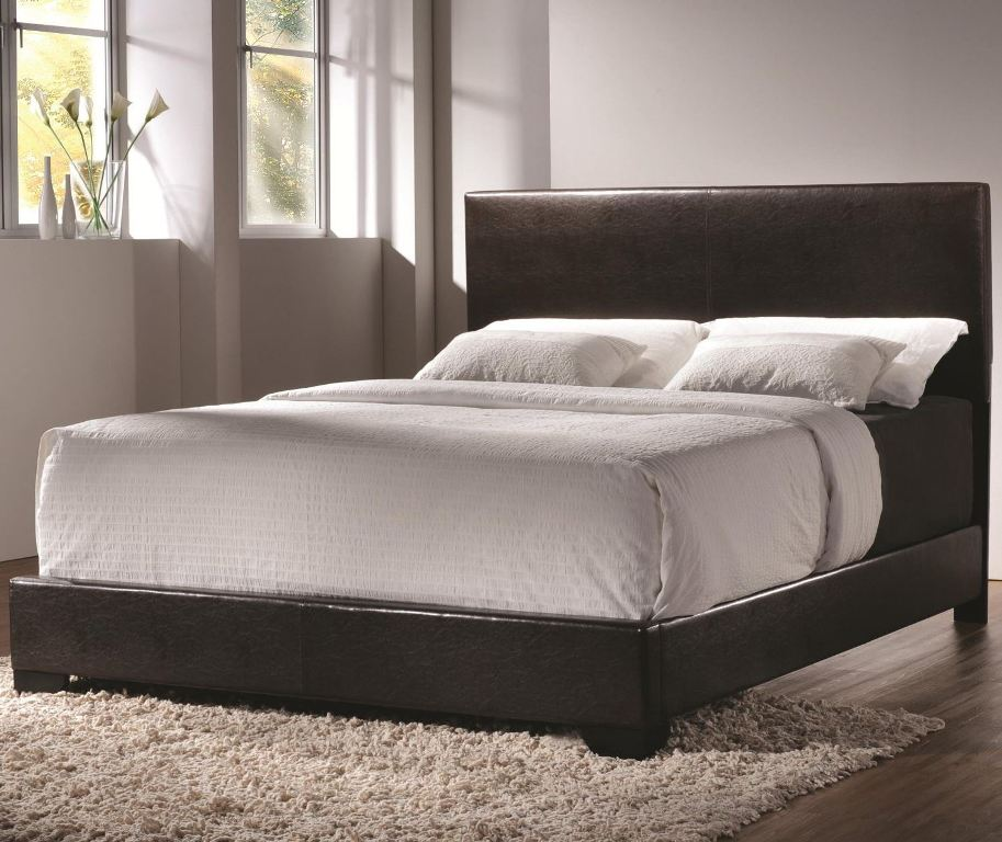 Image of: Blue Twin Upholstered Bed