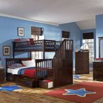 Boy Bunk Bed with Stairs