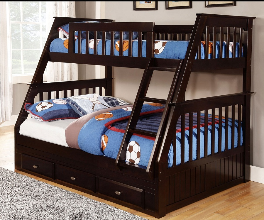 Boy Twin Over Full Loft Bed