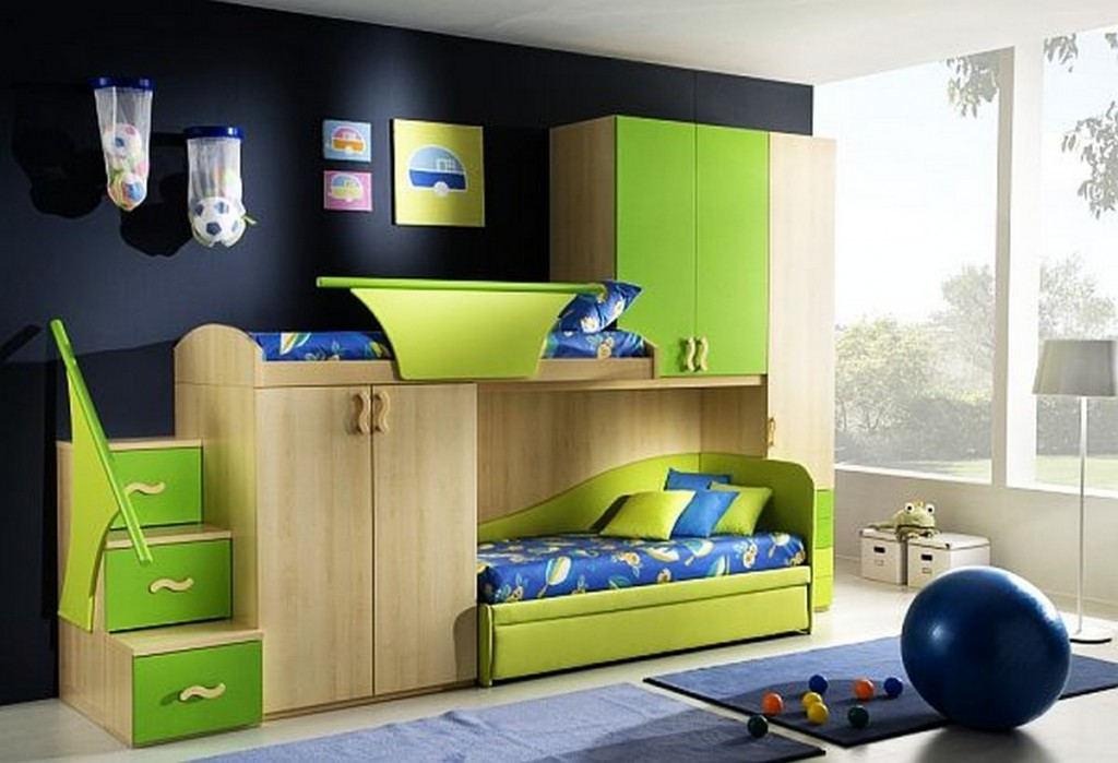 Image of: Boys Loft Beds Inspired