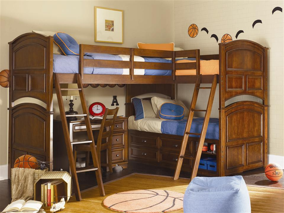 Image of: Boys Loft Beds Plan