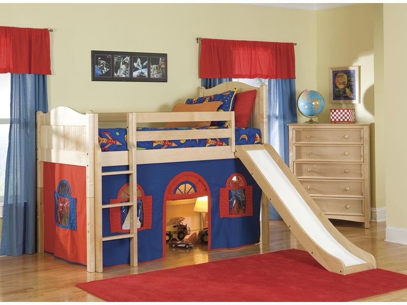 Image of: Boys Loft Beds Sets