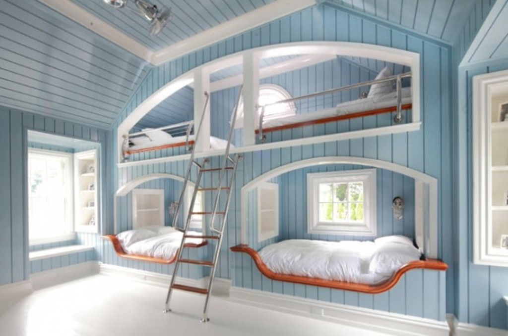 Image of: Built In Bunk Beds Images Ideas