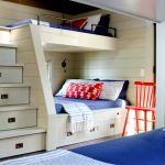 Built In Bunk Beds for Cabin