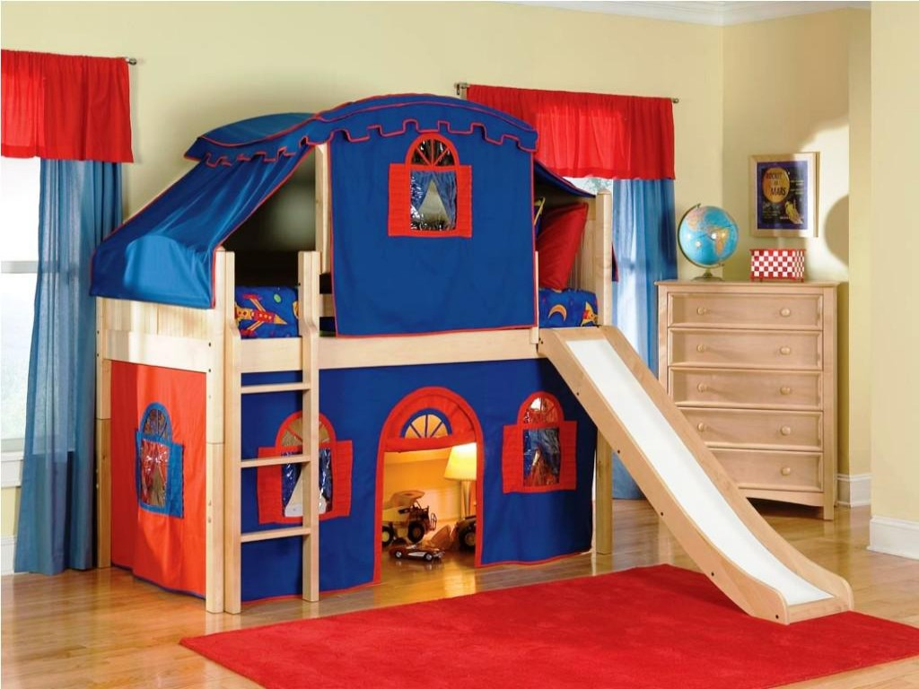 Image of: Bunk Beds for Kids with Stairs and Arizona Furniture Stores
