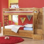 Bunk Beds for Kids with Stairs with Desk