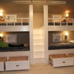 Bunk Beds with Drawers for Under Storages