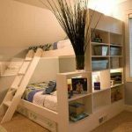 Bunk Beds with Drawers in Stairs