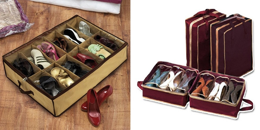 Image of: Cheap Underbed Shoe Storage