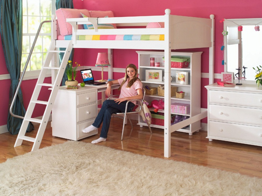 Image of: Contemporary Pottery Barn Loft Bed