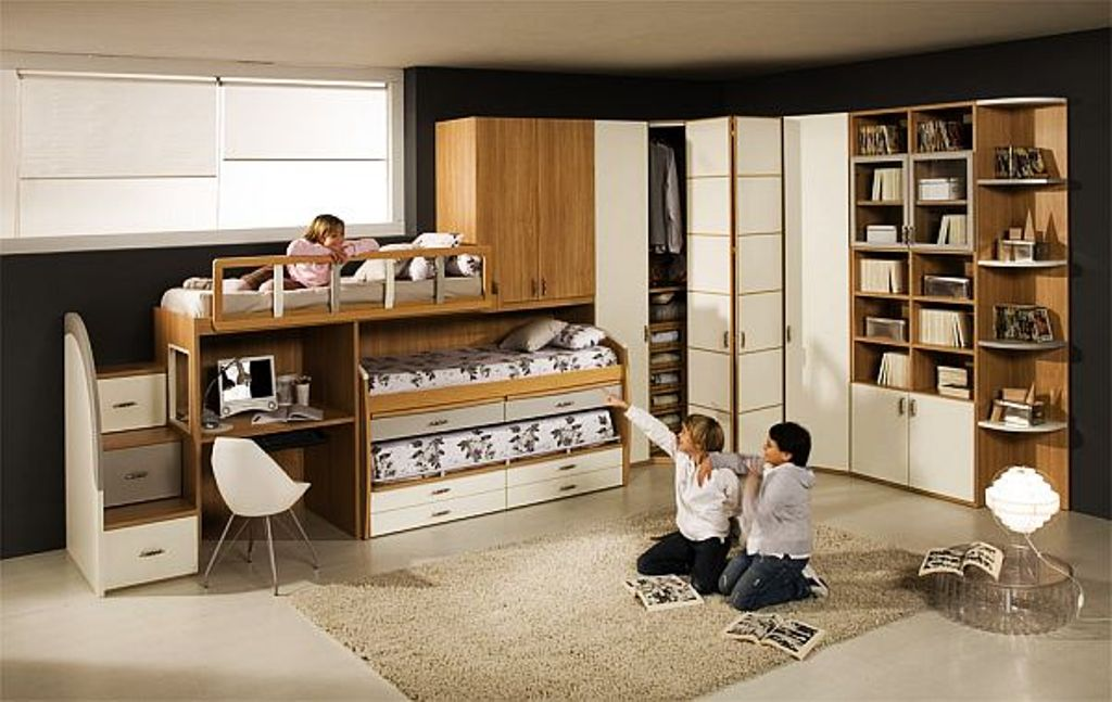 Image of: Cool Boy Bunk Beds