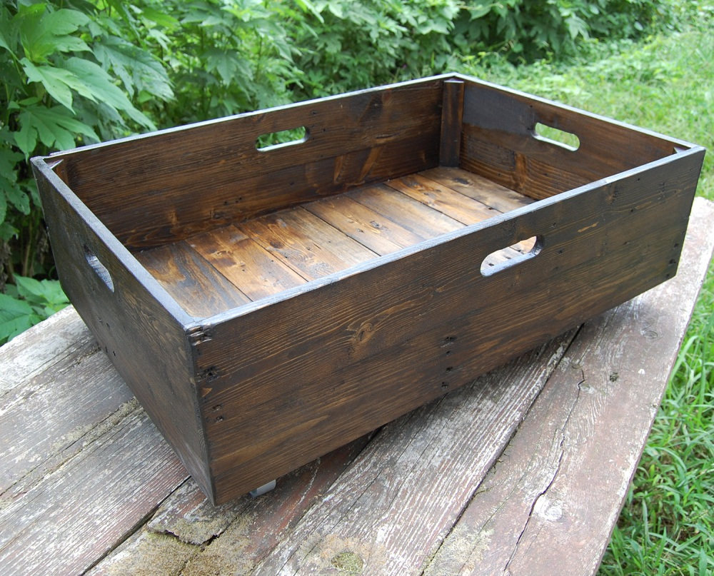 Image of: Custom Rolling Underbed Storage