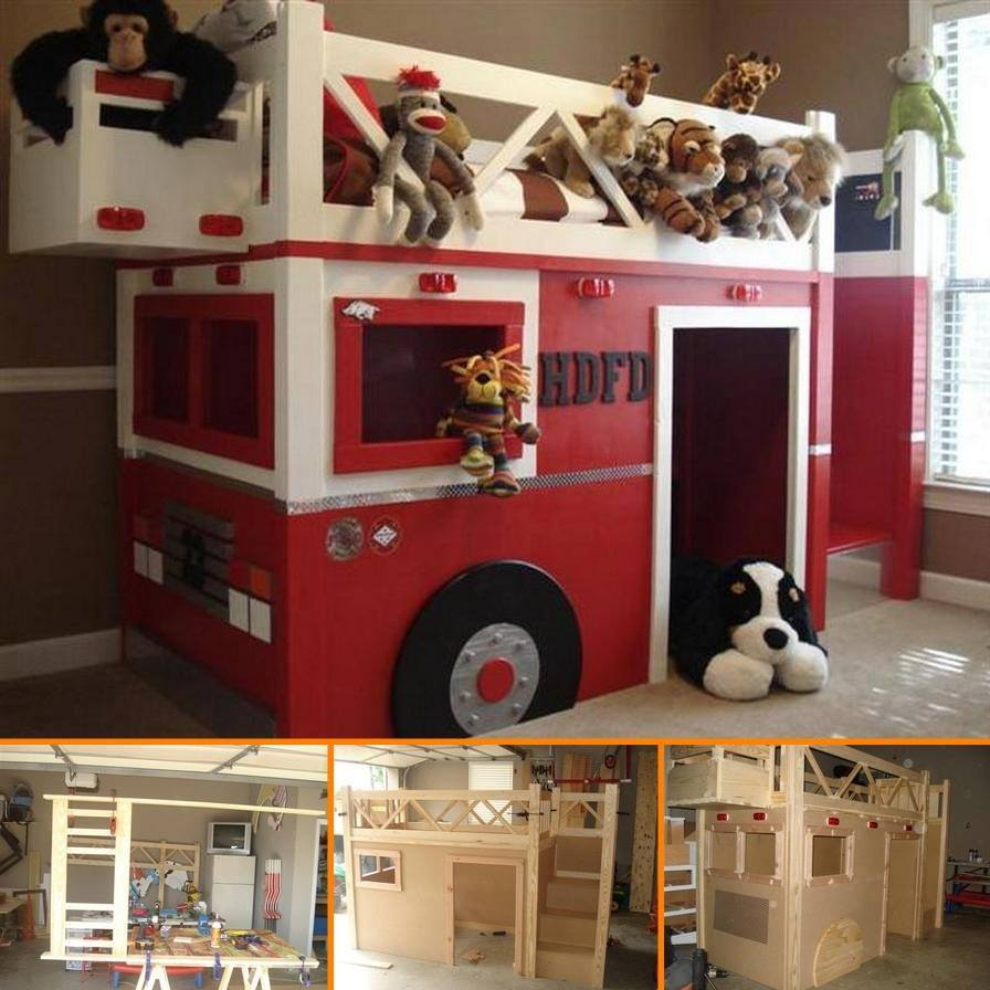 Image of: Cute Ana White Loft Bed