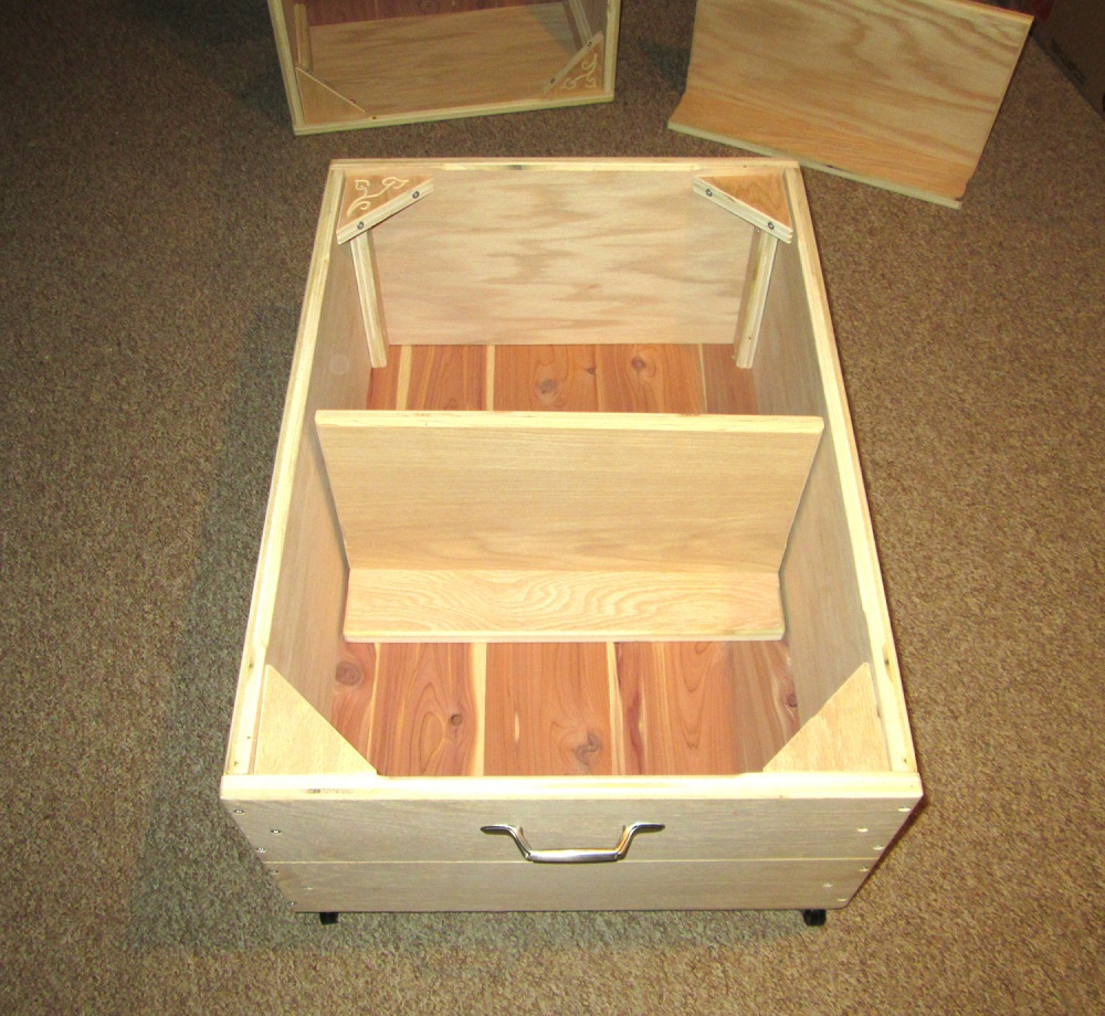 Image of: Decorating Rolling Underbed Storage