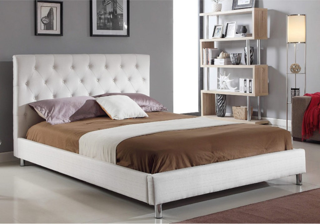Image of: Diva Twin Upholstered Bed