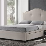 Diva Twin Upholstered Bed Purple