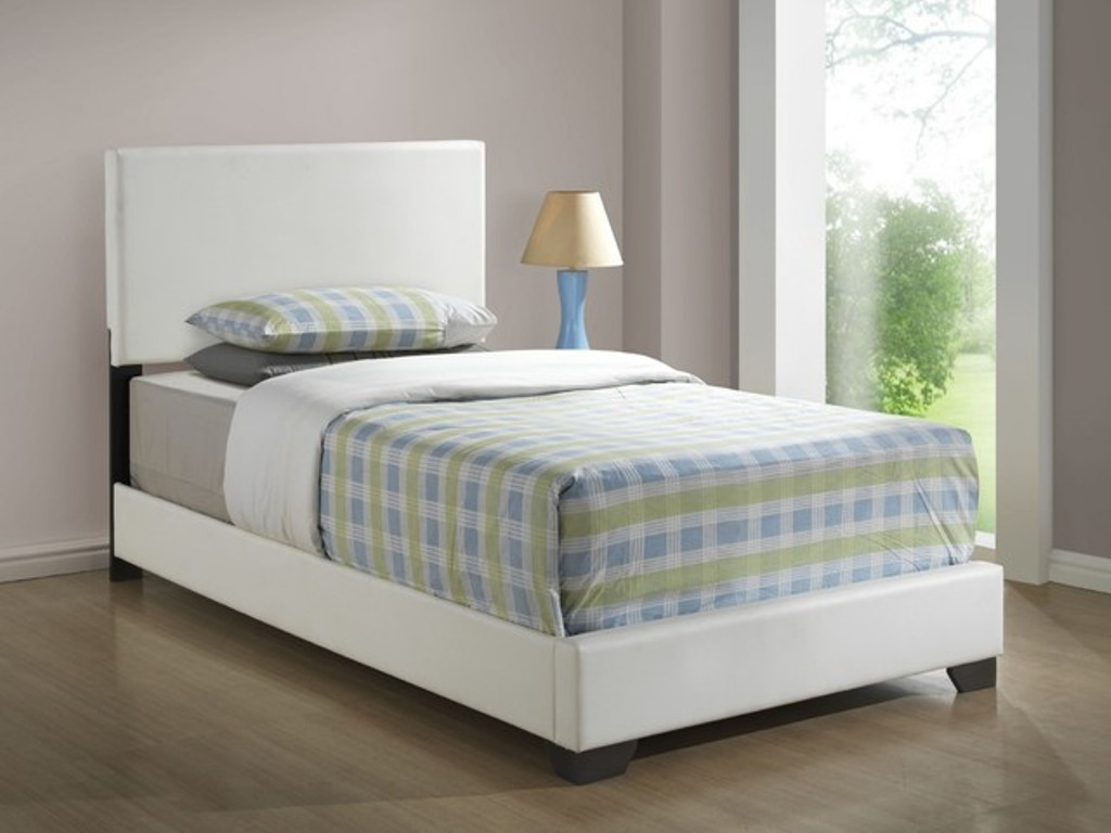 Image of: Extra Long Twin Upholstered Bed
