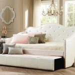 Extra Long Upholstered Twin Bed