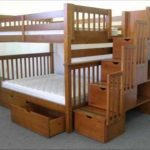 Full Over Full Bunk Beds with Drawers