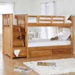 Full Twin Bunk Beds with Stairs